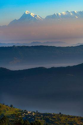 Layers Of Mountains, Binsar, India