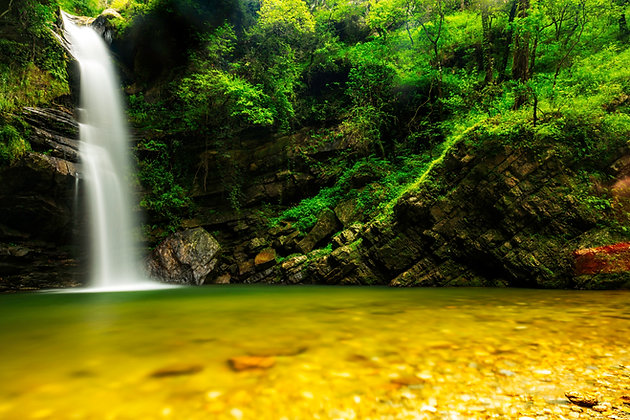 Waterfall Of Mukteshwar, Uttarakhand, India