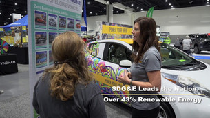 Highlighting the 2017/2018 San Diego International Auto Show with a focus on Clean Transportation.