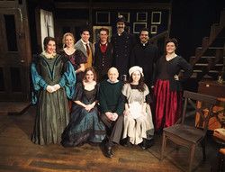 Cast Photo with Charles Strouse