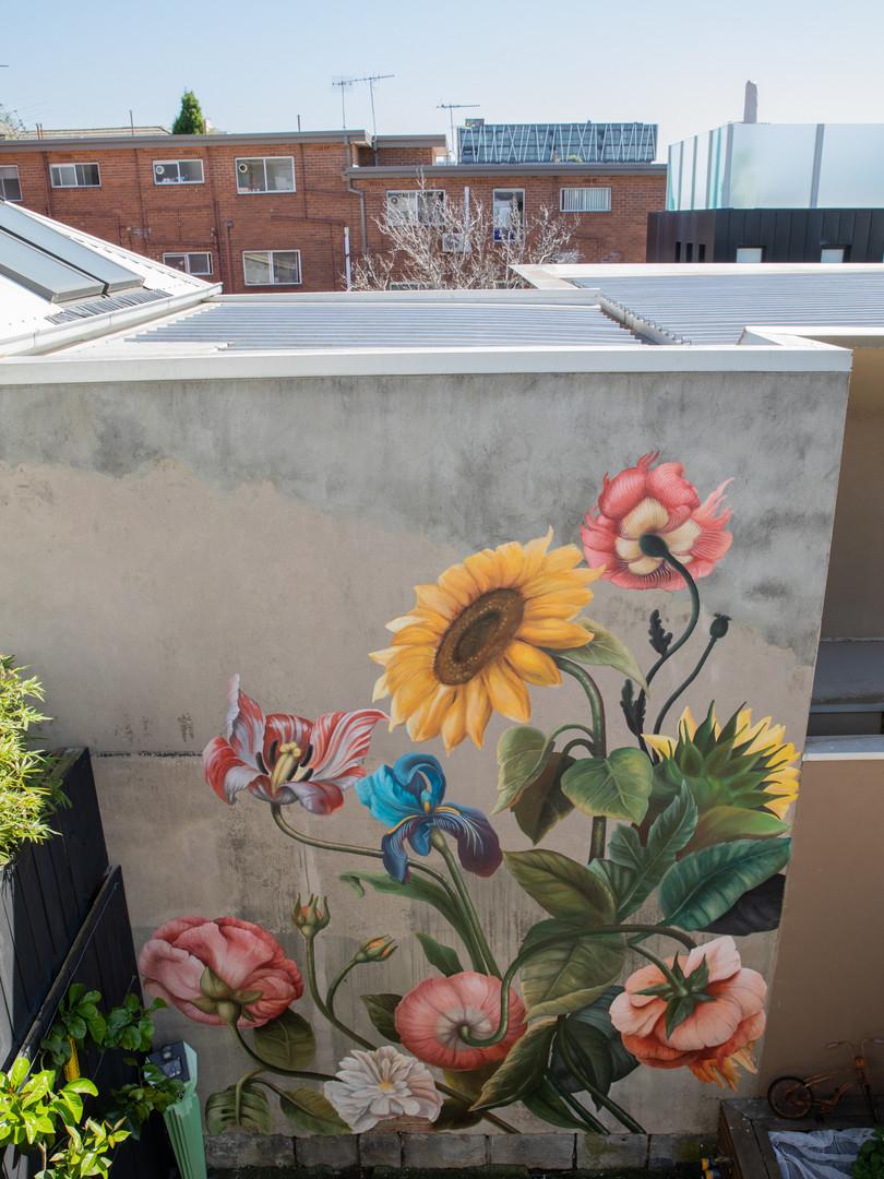 Residential mural Richmond