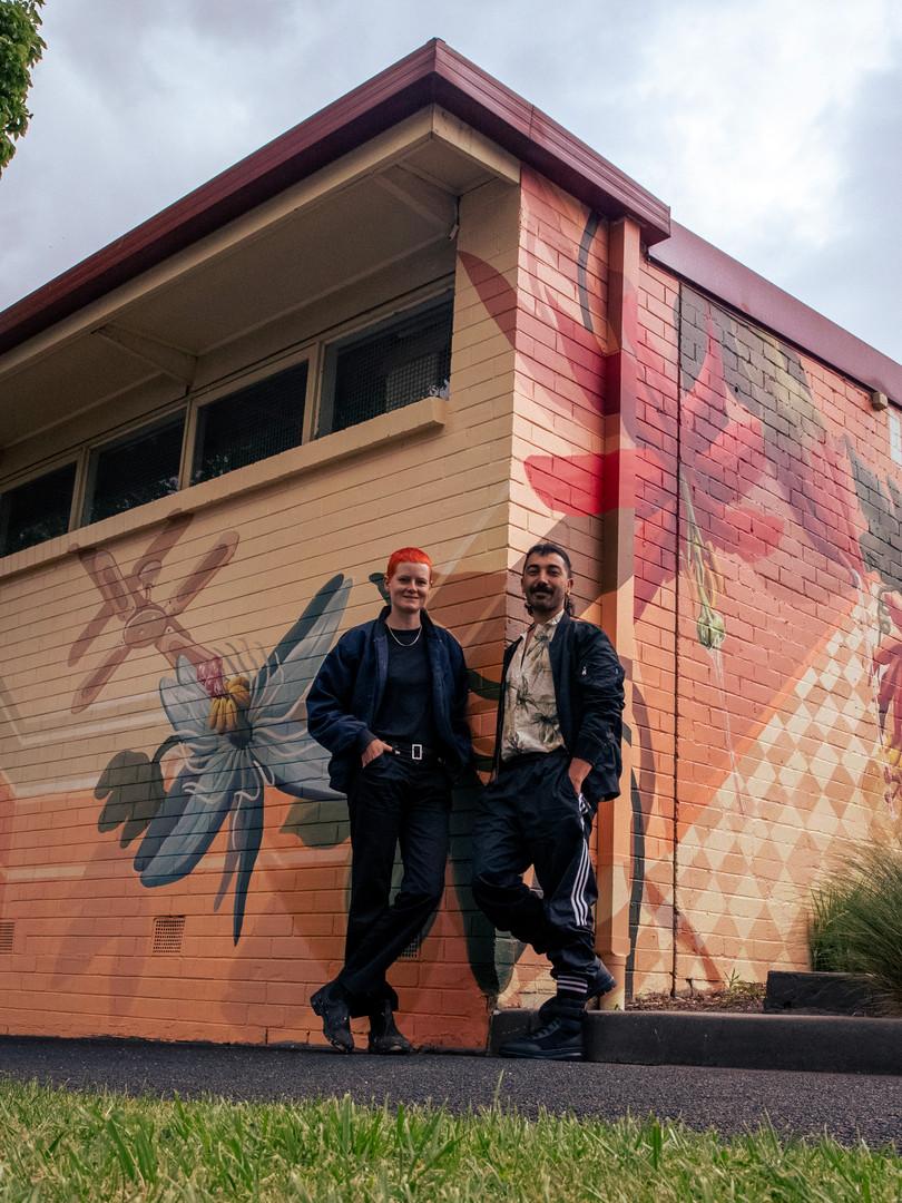Unwrapped LGBTQIA mural, Walker street gallery, Dandenong