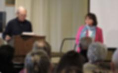 DCPG recognized Libby Nagel for Stewardship Award