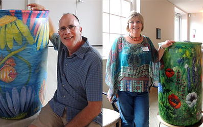 Dorchester artists lend their talent to DCPG's Rain Barrel Art Project