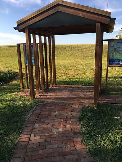 Stormwater Education Station at Sailwinds Park in Cambridge