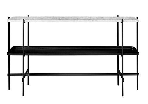 """Table """"TS"""" en marbre pour GUBI"""