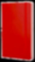 carnet moleskine rouge