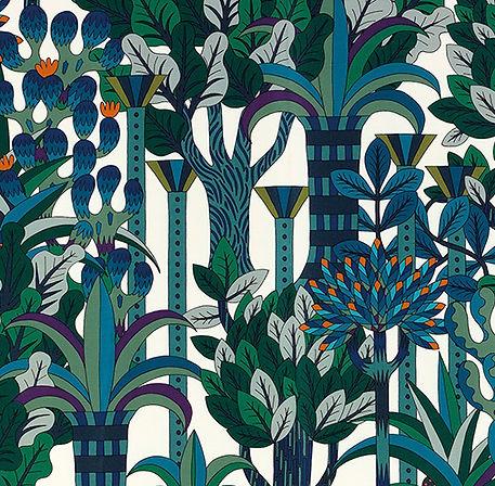 """Papier peint """"Jardin Osier"""" Hermes"""