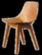 Chaise Tonneau design pierre Gariche 1954