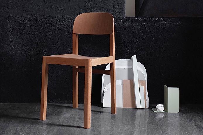 Cecilie Manz Chaise d'atelier, MUUTO 2017
