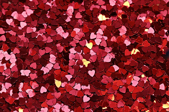 Confetes coração