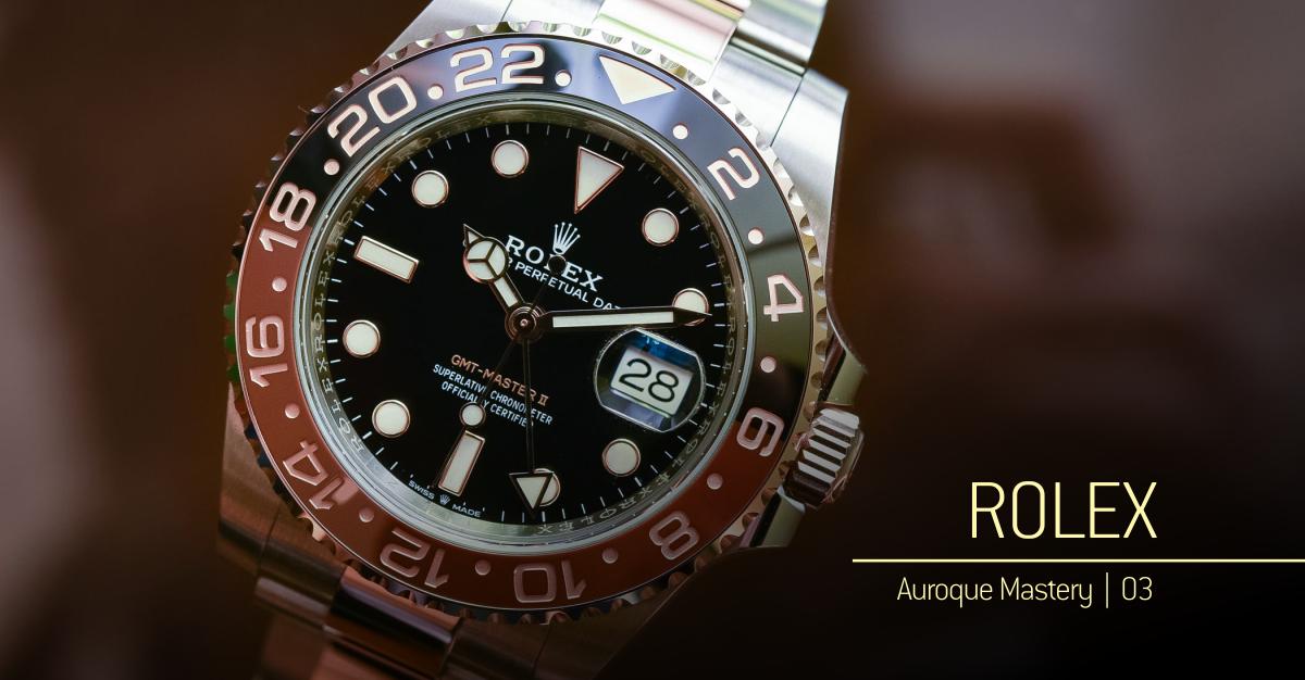 31ba753c295 ROLEX – o valor do tempo