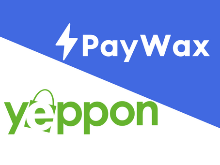 PayWax's Smart eWallet Selector Goes Live on Yeppon.it
