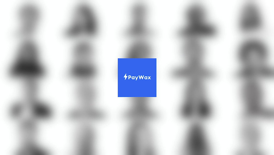 1 minute video explaining PayWax and its solutions