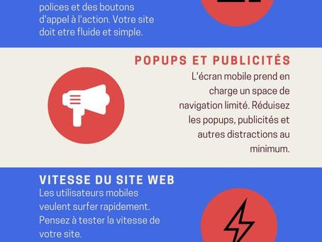 5 conseils pour optimiser votre site pour mobile