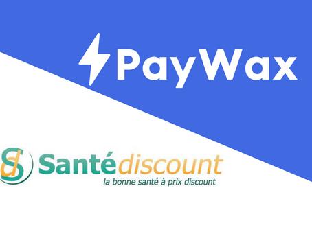 Le checkout en 1 clic sur Santédiscount augmente les conversions et réduit les frais de transactions
