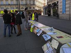Les Gilets Jaunes d'Angers vont à la rencontre des Angevins