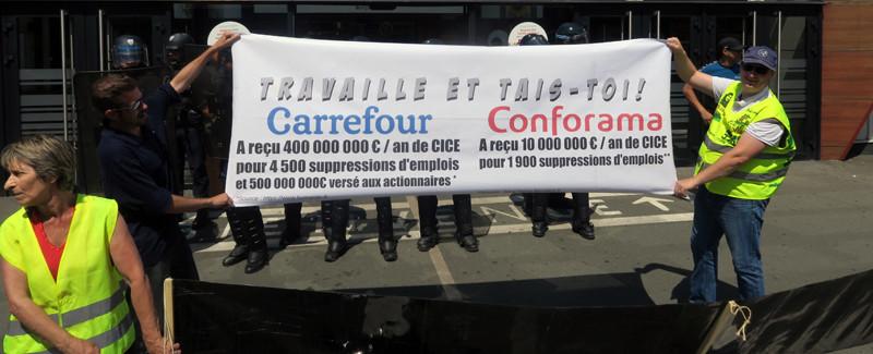 Carrefour et Conforama