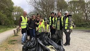 Action éco-citoyenne à l'initiative des Gilets Jaunes d'Angers