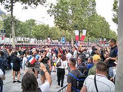 Les Gilets Jaunes Angevins ont fêté le 14 juillet 2019 à Paris