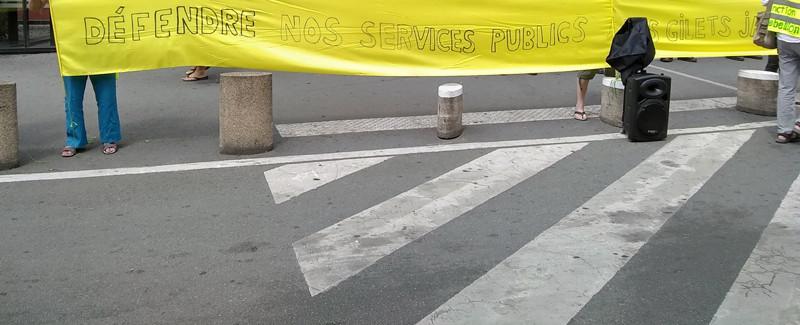 Défendre nos services publics