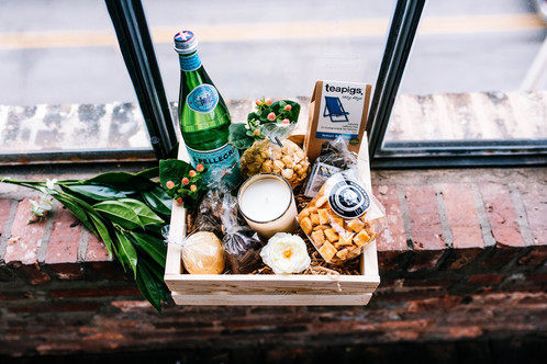 Luxe Wedding Welcome Basket | Baltimore Gift Baskets That Give ...