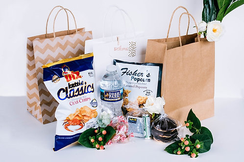 Classic Wedding Welcome Bag