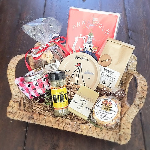 baltimore gift baskets that give back benevolent baskets local
