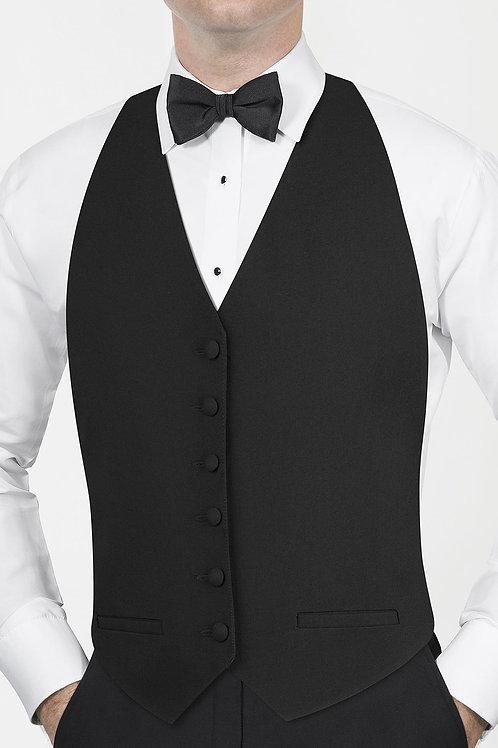 Classic Black Backless Vest
