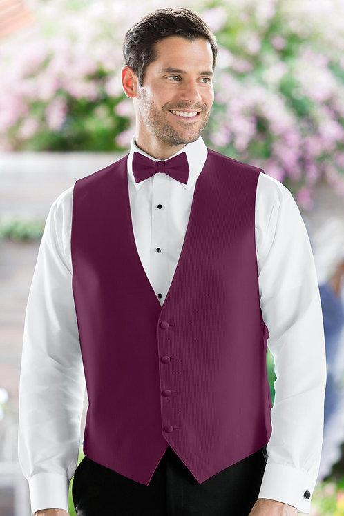 Herringbone Sangria Vest