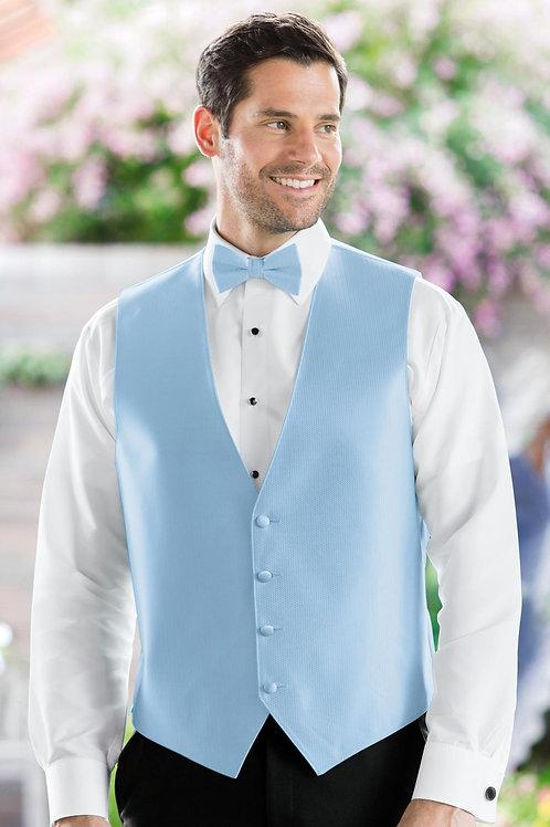 Herringbone Lite Blue Vest