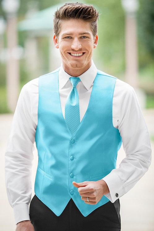 Expressions Blue Box Vest