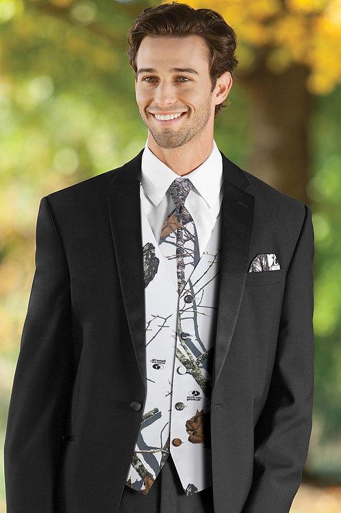 Mossy Oak White Camouflage Vest