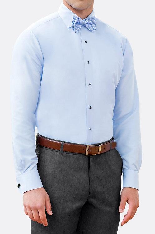 Light Blue Microfiber Shirt