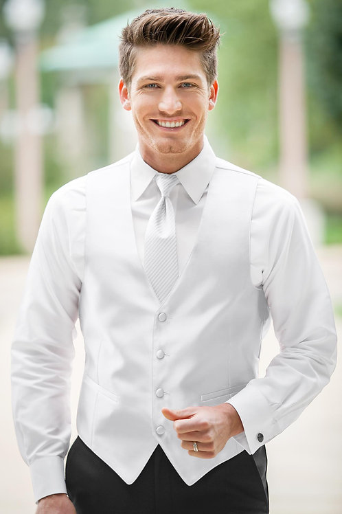Expressions White Vest