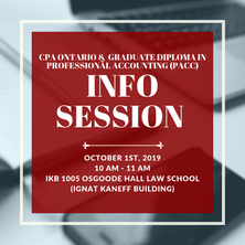 CPA Ontario & the PACC program | INFO SESSION