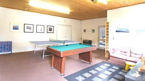 Hamilton cottages games room 2