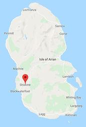 Hamilton Cottages location map
