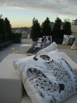 Sylvie Guieysse Pillows showtime Tudors pillows