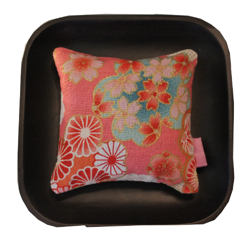 Sachet de lavande - japonais rose - Sylvie Guieysse Pillows