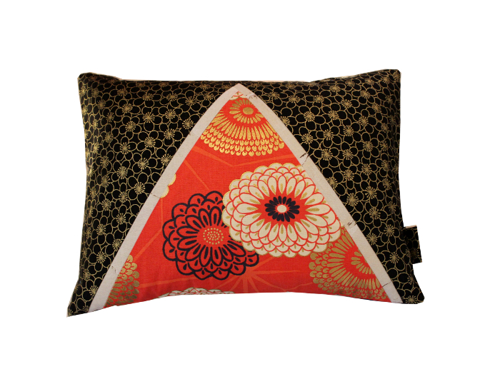 Coussin Rouge Royal- Sylvie Guieysse Pillows