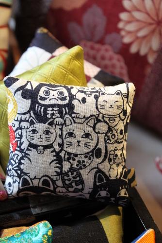 Sachet de lavande Maneki-neko - Sylvie Guieysse Pillows