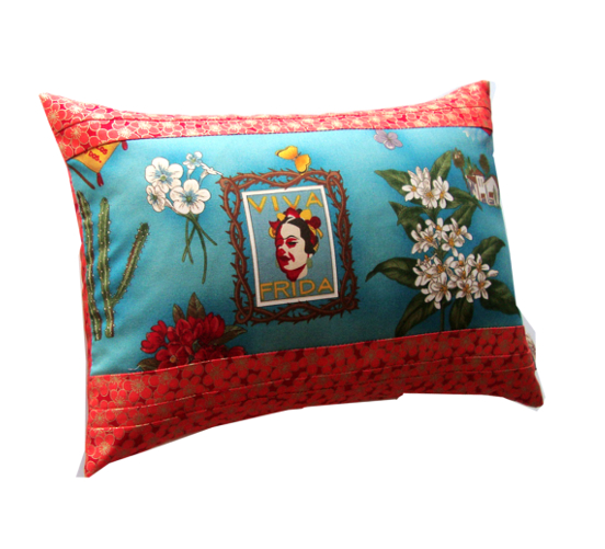 Coussin Frida orange - Sylvie Guieysse Pillows