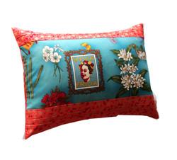 Coussin Frida orange - Sylvie Guieysse Pillows - 29€
