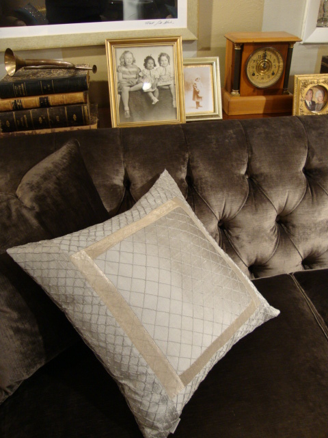 Coussin pour Susan Slotkis - Grange store NYC