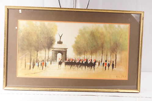 Framed French Painting - By Klitz