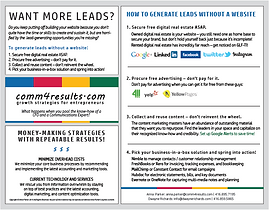 How to generate leads without a website