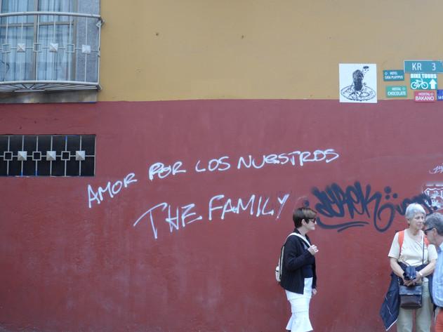 Amor por los nuestros  The family