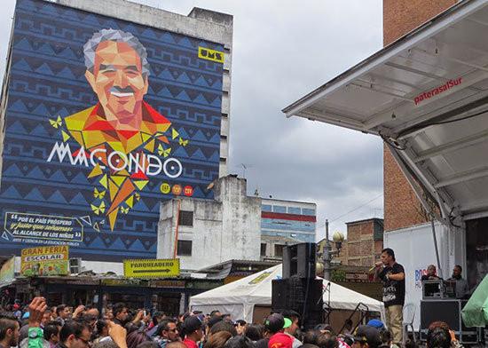 "Grafiti ""Macondo"" del colectivo UMS"