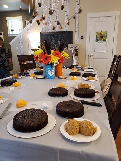 Deco Cakes Birthday Class